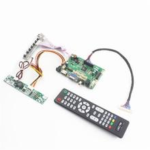 TSUX9 V2.0 HDMI AUDIO VGA AV USB Placa Controladora para LCD painel LVDS 23.8 polegada LM238WF1-SLH1 LM238WF1-SLA1 P238HAN01.0 fácil diy