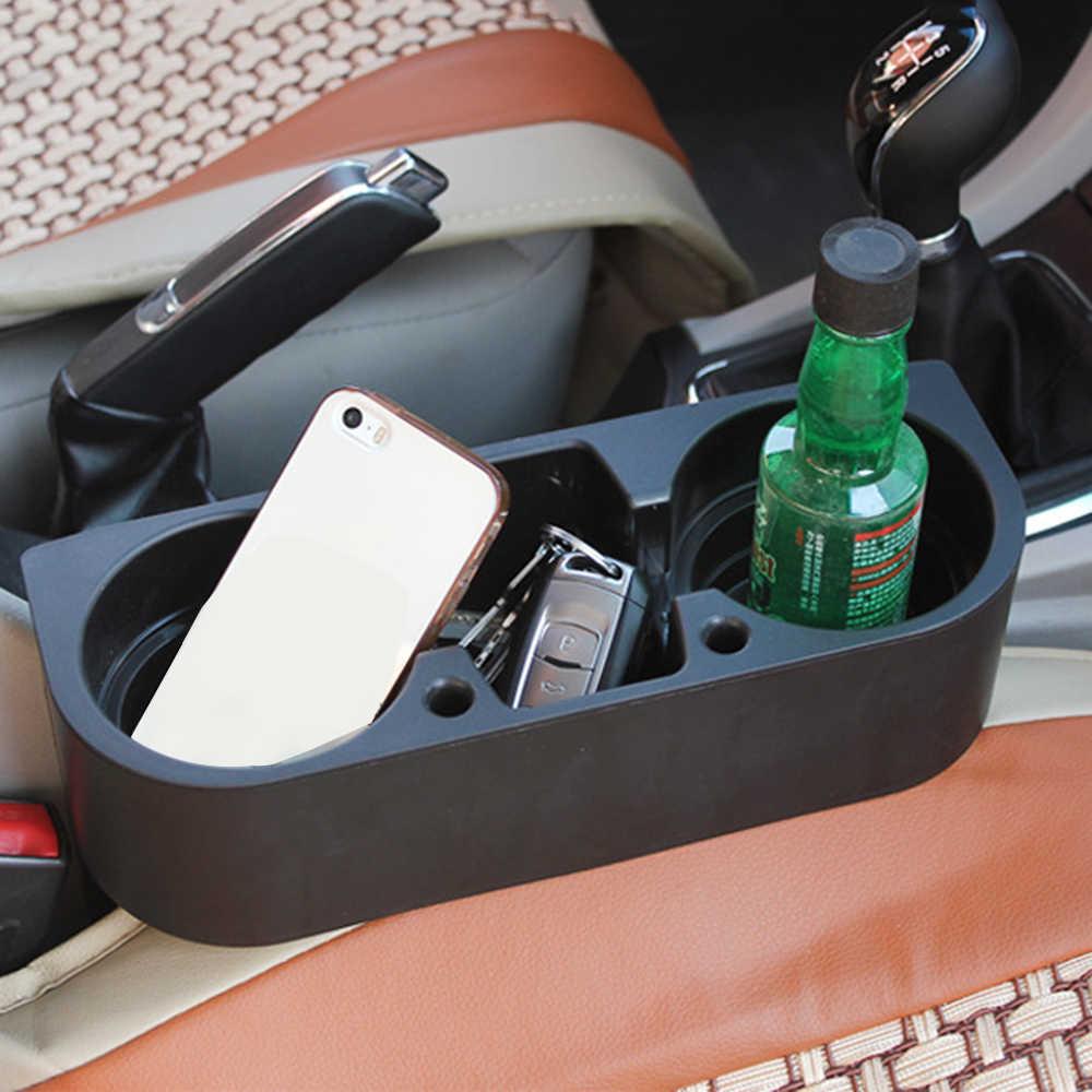 Caminhão automático multifuncional assento de carro cunha bebida copo titular do assento do veículo copo do telefone celular bebidas alimentos caixa acessórios do carro