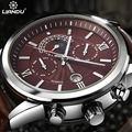LIANDU Марка Кварц Изысканный Спорт мужская Военные Часы Жизнь Водонепроницаемый Авто Дата Многофункциональный Часы Relógio Masculino