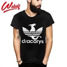 DRACARYS Game Of Thrones T Shirt  Awesome Daenerys Targaryen Stormborn Dragon Fire Tee Shirt Fashion Streetwear Camiseta цена