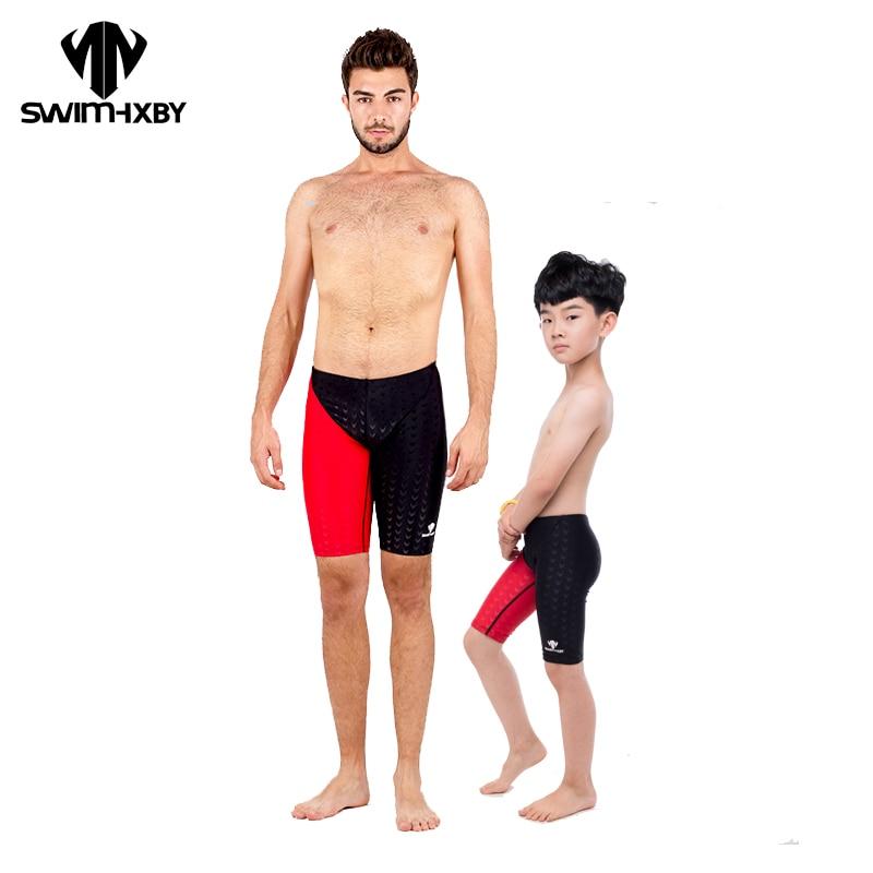HXBY Wettbewerb Plus Size Bademode Männer Badeanzug männer Badehose Für Baden Plavky Mann Schwimmen Tragen Herren Schwimmen Shorts