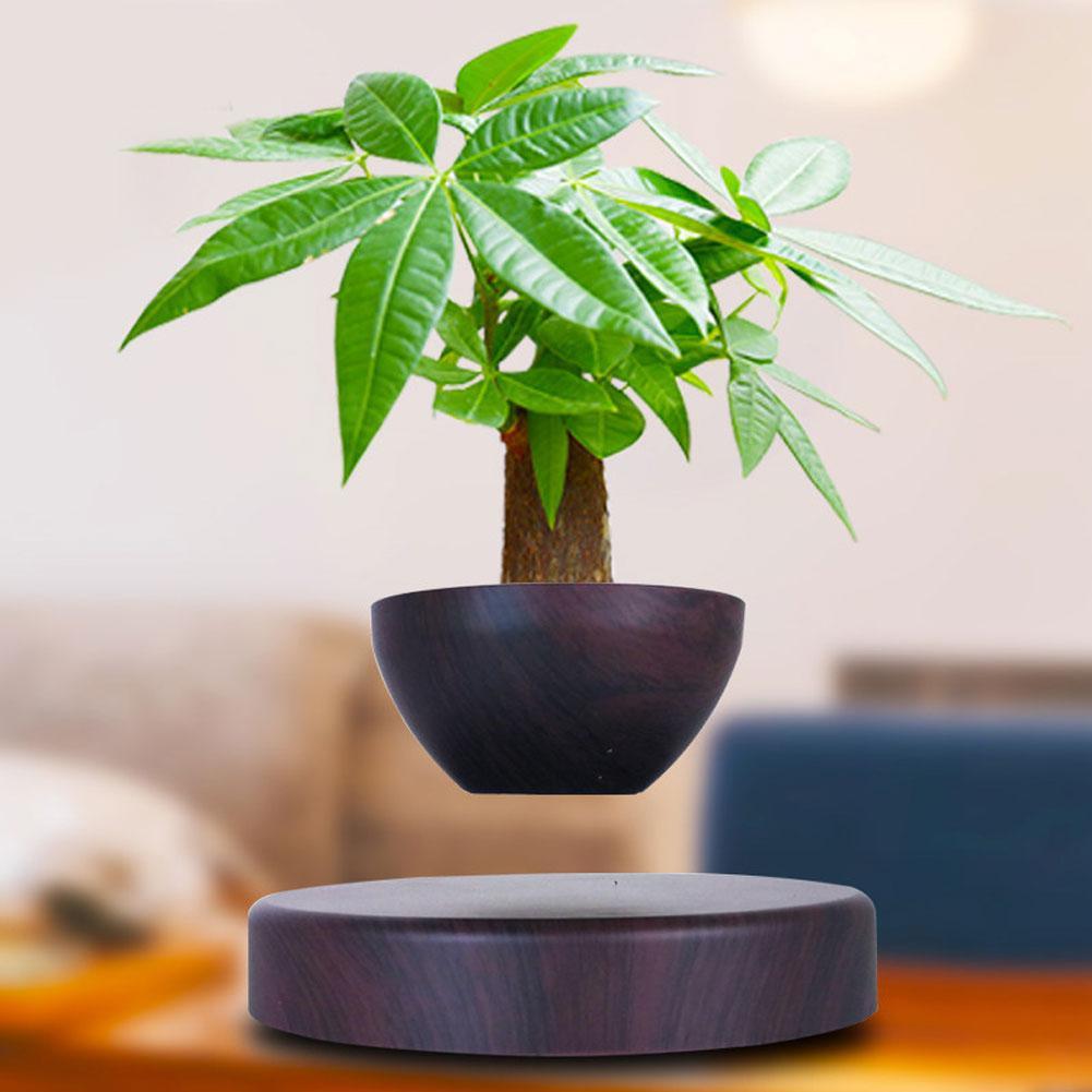 Levitating Air Bonsai Pot Magnetic Levitation Suspension Plant Floating Decor