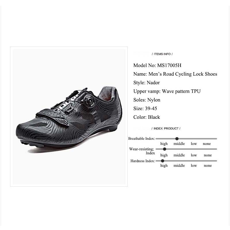 Santic Cycling Shoes Men 2018 Self-Locking Road Bike Shoes Breathable - Cycling - Photo 6