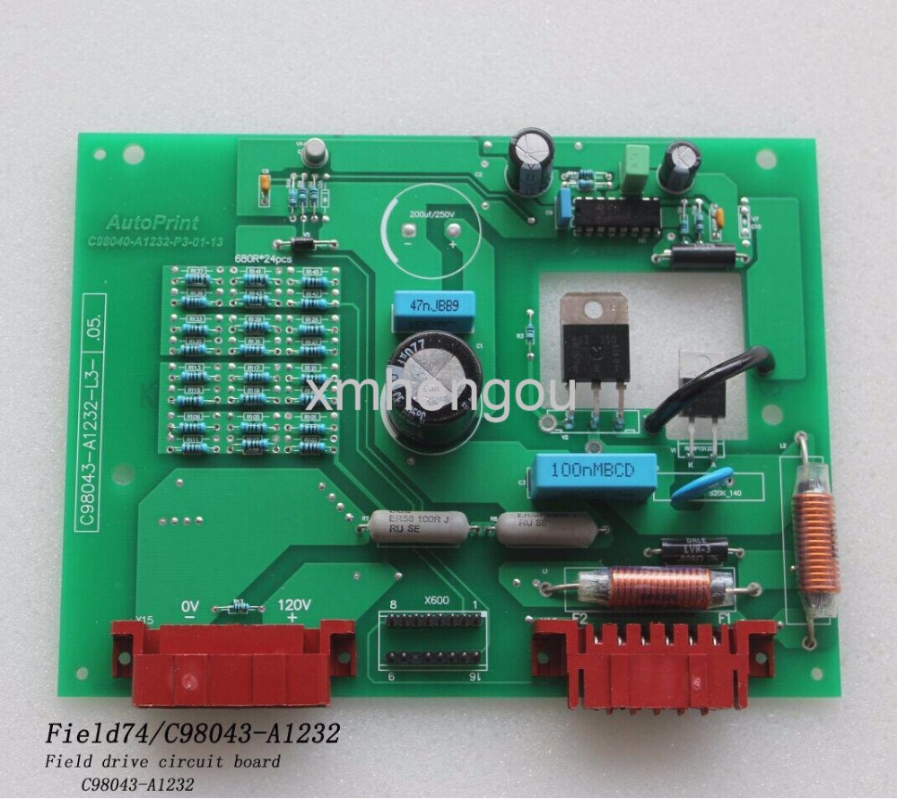 1 Piece Heidelberg offset printing machine spare parts MO74 Excitation Board C98043-A1232 20 pieces free shipping heidelberg printing machine spare parts feeder wheel size 60 8mm