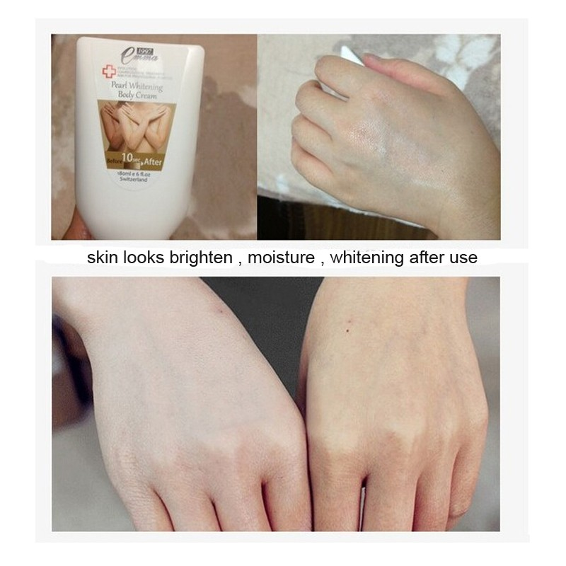 Whitening Body Cream 10 second Instantly whitening Body Lotion Skin Care Moisture for whole body 180ML Free Shipping 16