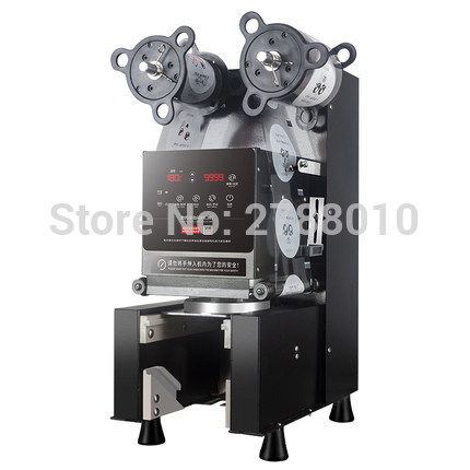 Electricl Plastic Cup Sealing Machine Automatic Cup Packing Sealer Low Noise Commercial Bubble Tea Coffee pressure FK95