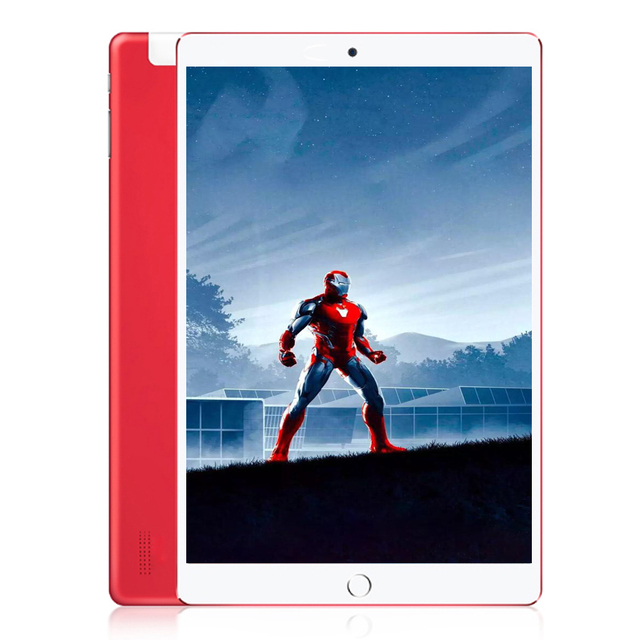 BDF New Android 7.0 Tablets 10 Inch 4GB+64GB Bluetooth Wifi 1920*1200 IPS Octa Core 3G Dual SIM card Phone Call Tablet Pc 10 9