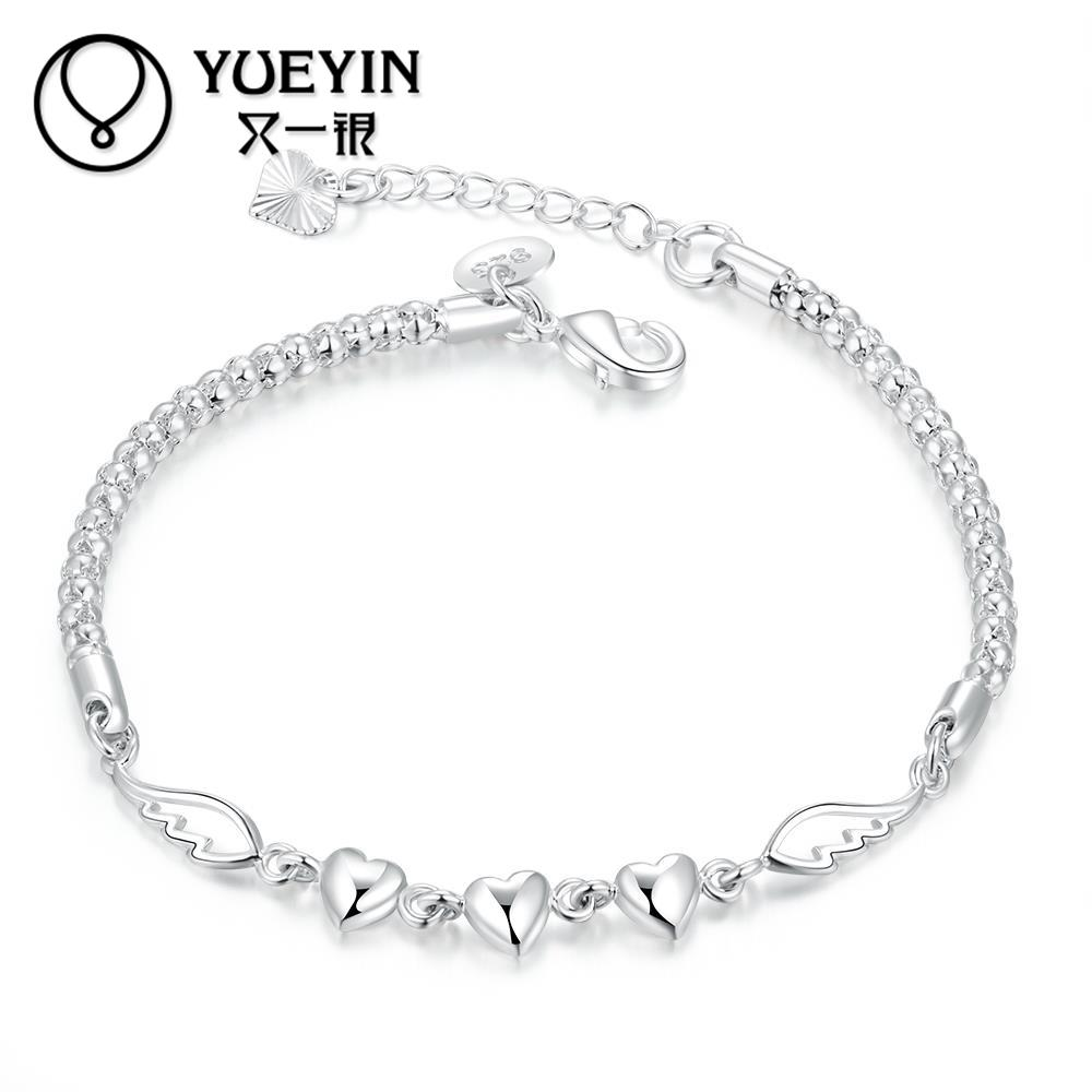 New fashion silver plated bracelet for women European