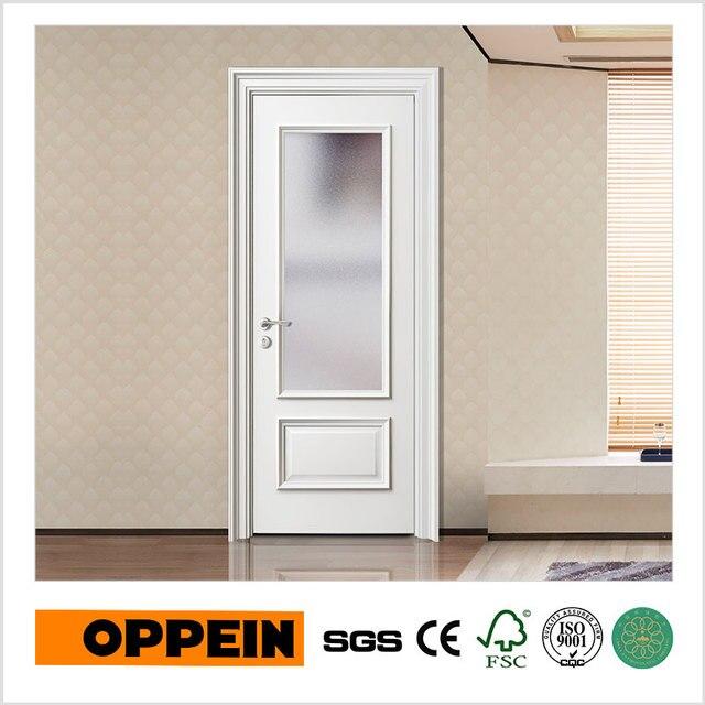 OPPEIN Europa Puertas Interiores De Vidrio Puerta de Madera de