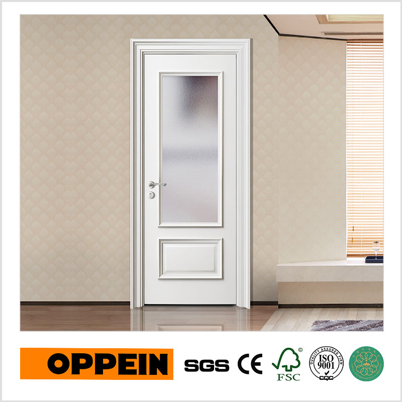 Oppein Europe Interior Glass Doors Wooden Door Designyde012d In