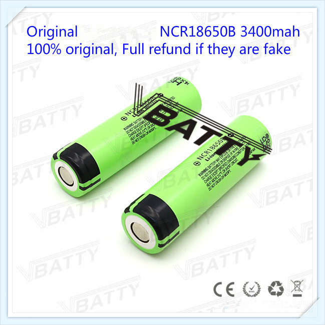 US $5 6 22% OFF|Best selling NCR18650B unProtected Rechargeable 3400mAh  3 7V 18650 battery for Panasonic with flat top(1pc)-in Rechargeable  Batteries