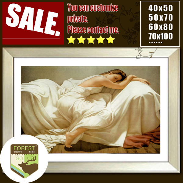 western European oil painting of sleeping beauty sexy woman bedside bathroom  hallway wall canvas decoration oil. Online Get Cheap Western Bathroom Mirrors  Aliexpress com