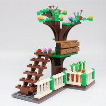 LegoINGlys Garden Green Plants Tree Flowers Building Blocks Bricks Set Toy City MOC Accessories Parts DIY Toys for Children(China)