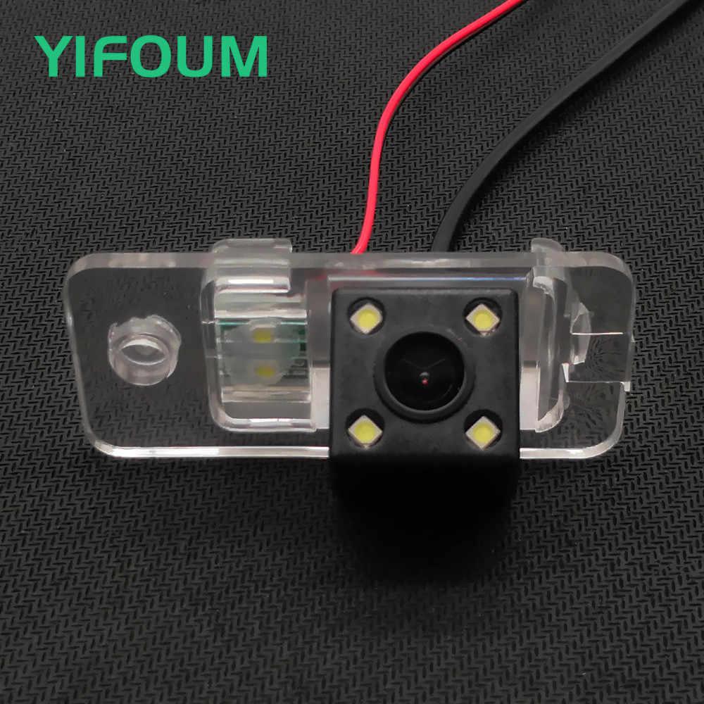 YIFOUM HD 170 Degrés Étanche Voiture Caméra de Recul Pour Audi A3 S3 8 P/A4 S4 B5 B6 B7 8E 8 H/A6 A6L C6 S6 RS6/Q7 SQ7 4L/S5 A8