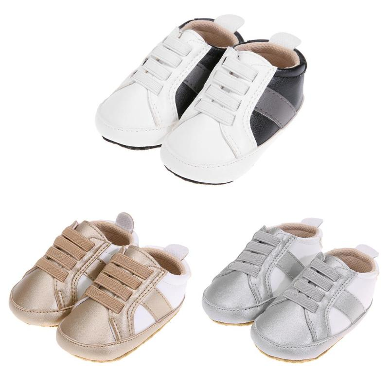 baby moccasins infant anti-slip PU Leather Shoes Newborn Baby Anti-Slip PU Leather First Walkers Soft Lace-up Casual Shoes