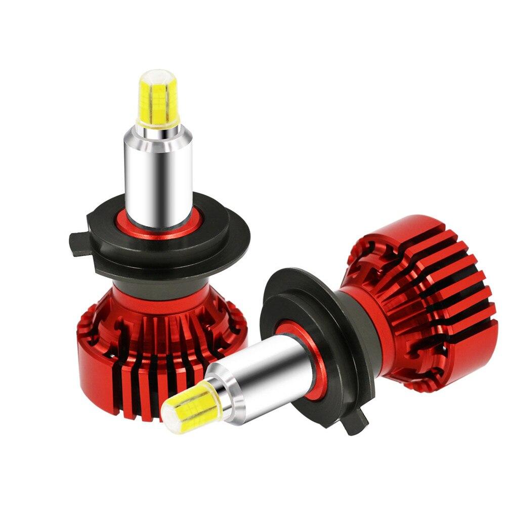 Car Headlight LED H7 H1 H3 H8 H9 H11 9012 9005 9006 72W 8000lm 6000K 360