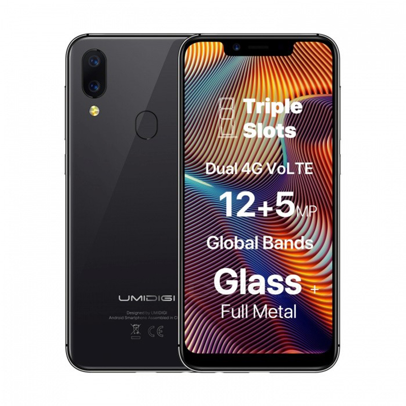 Image 5 - UMIDIGI A3 Pro Globale Della Fascia 5.7 FullScreen Smartphone 3GB+32GB Quad Core Android 8.1 12MP+5MP Unlock Mobile phone-in Cellphones from Cellphones & Telecommunications