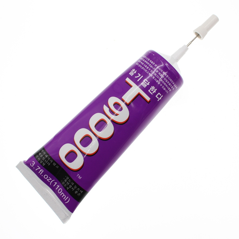 110ml Super Liquid <font><b>Glue</b></font> <font><b>T9000</b></font> Wood Textile Leather Clothes Stationery Store DIY Craft Hobby School Material Strong Adhesive image