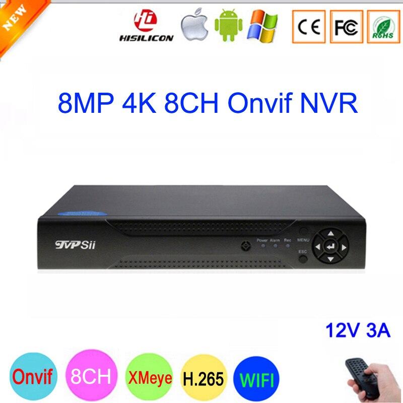 Dahua Panel Hi3536C 8mp XMeye Surveillance Video Recorder H.265+ 4K 8CH 8 Channel IP Onvif WIFI CCTV NVR main picture