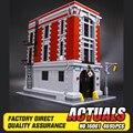 LEPIN 16001 4695 Pcs Ghostbusters Quartel Quartel General Model Building Kits Modelo set Compatível Com 75827