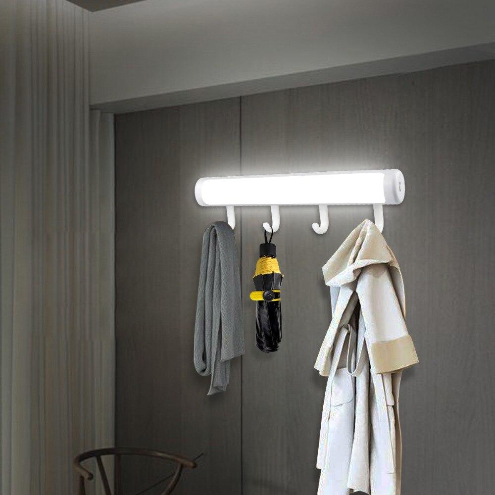 Detachable Hooks Ir Motion Sensor Led Cabinet Light