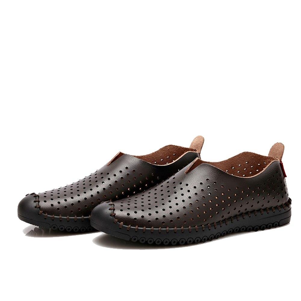 Hommes Moccasins Mode Beau des chaussures de conduite Nouvelle Mode Chaussures Respirant Plus Taille 38-47 EGfcbgILCy