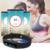 Pouco Preto Freqüência Cardíaca Inteligente Pulseira Bluetooth 4.0 Pedômetro Calorias Rastreador Esporte Pulseira para Android iOS