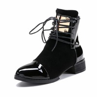 Europe and the United States naked boots Martin boots boots gold boots new