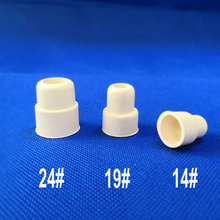 14# 19# 24# 20pcs 50pcs 100pcs anti mouth rubber stopper plug lab flask stopper reverse rubber cap