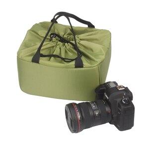 Image 3 - New  Arrival Waterproof Camera Liner Case Protective Soft Shockproof DSLR SLR Camera Lens Bag Insert Padded Digital Pouch