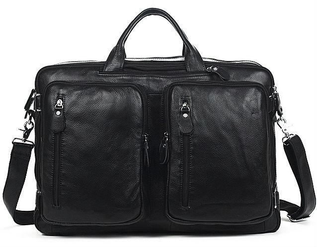 2015 Multifunktions 100% Echtem Leder Männer Umhängetasche Große Umhängetaschen Für Männer Leder Umhängetasche Tote Handtasche Schwarz Komplette Artikelauswahl