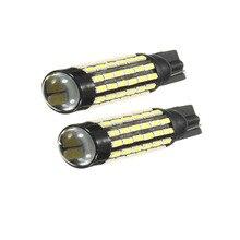 Dongzhen 2X T10 W5W белый 78 SMD 3014 Высокая Мощность светодио дный лампы Интерьер Свет поворотник Резервное копирование Обратный лампочки авто автомобиль-Стайлинг