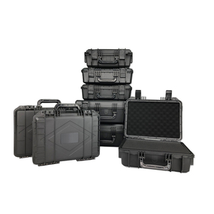 ABS Plastic Sealed Tool Box Tool Case Impact Resistant Toolbox Equipment Camera Case Dry Box Shockproof with Pre-cut Foam
