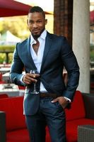 Latest Coat Pant Designs Black Men Suit Casual Stylish Wedding Suit High Quality Custom Made Men