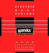 Warwick Red Label 4-String Light Stainless Steel Bass Strings 42230 Gauge 035-095