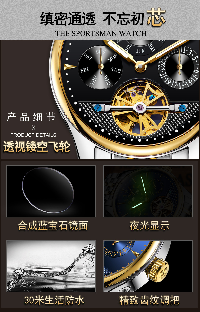 wristwatch waterproof