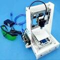 2017 Новая Алюминиевая Структура 3D DIY Принтер Prusa i3 3d-принтер Комплект Подогревом Кровать Два Рулона Нити SD Карты