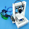 2017 New Aluminium Structure 3D Printer DIY Prusa i3 3d Printer Kit Heated Bed Two Rolls Filament SD Card