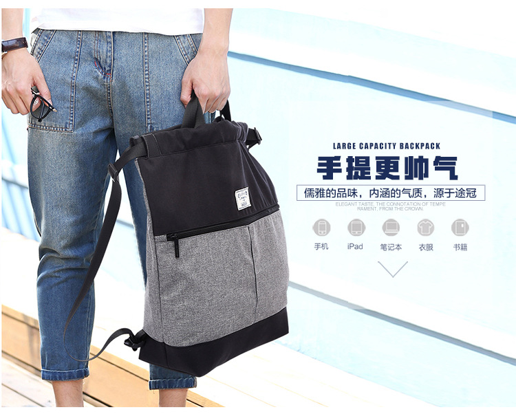 Fashion Large Capacity Bag Laptop Backpack for 14 inch
