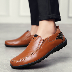 Casual Driving Shoes Men Genuine Leather Loafers Men Shoes S Men Loafers Luxury Brand Flats Shoes Men Chaussure Breathable