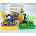 Eletrônica DIY fun brinquedos de mesa Bolas Labirinto de mármore prazo Trilha Building Blocks brinquedos educativos para crianças, com música e luz