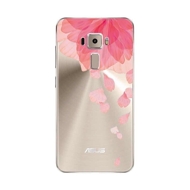 ثلاثية الأبعاد الإغاثة الدانتيل الزهور حافظة جراب إيسوز Zenfone 3 ZE520KL لينة بولي يوريثان لطيف الهاتف شل ل Zenfone3 ZE 520KL ZE520 KL Coque كابا