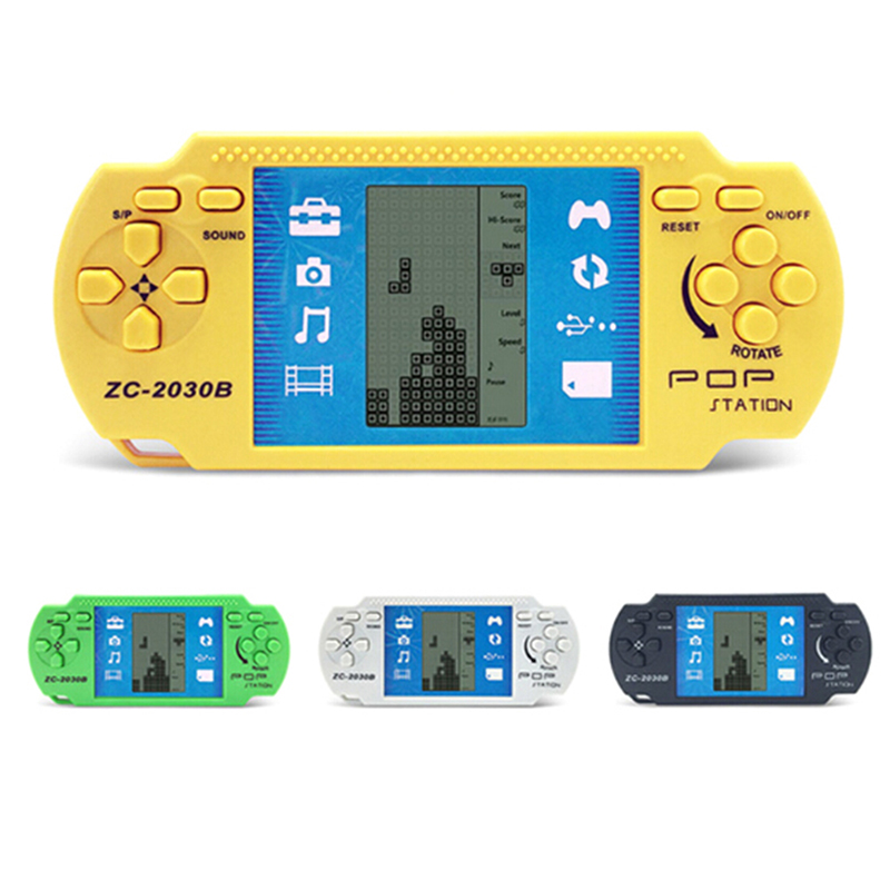 Electronic Toys Reasonable Hand Held Lcd Game Toys Fun Brick Game Riddle Handheld Game Console Classic Tetris Promoting Health And Curing Diseases Toy Phones
