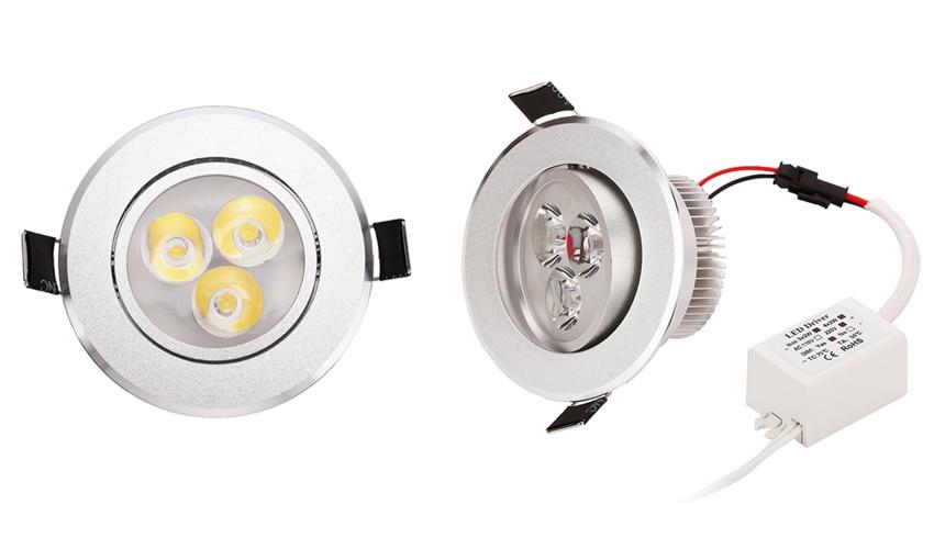w 7 w LED downlight frio warm