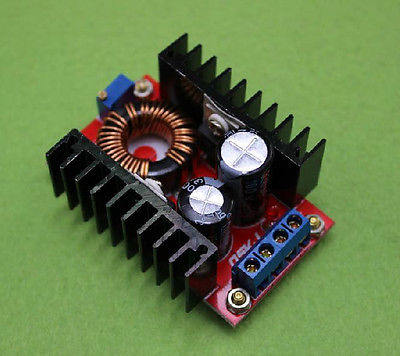 DC-DC Boost Converter 10-32V to 60-97V Step Up Power supply module 100W