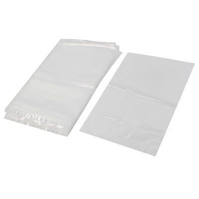 100Pcs 29x40cm Ziplock Bags 2Mil Clear Poly Plastic Reclosable Zip Seal 50 pcs crystal clear cello bags 39 5 cm x 45cm self adhesive opp cellophane bags