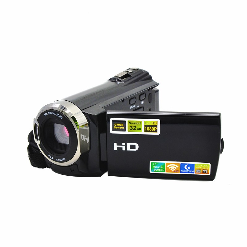 1080 Full HD Digital Camera 8MP CMOS Sensor Photo Camera Support Infrared Night Vision Professional Digital Camcorder
