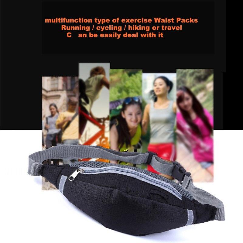 New Sport Waist Bag Outdoor Packs Unisex Travel Sport Satchel Running Wallet Mobile Phone Pouch Multifunctional Fanny Bag