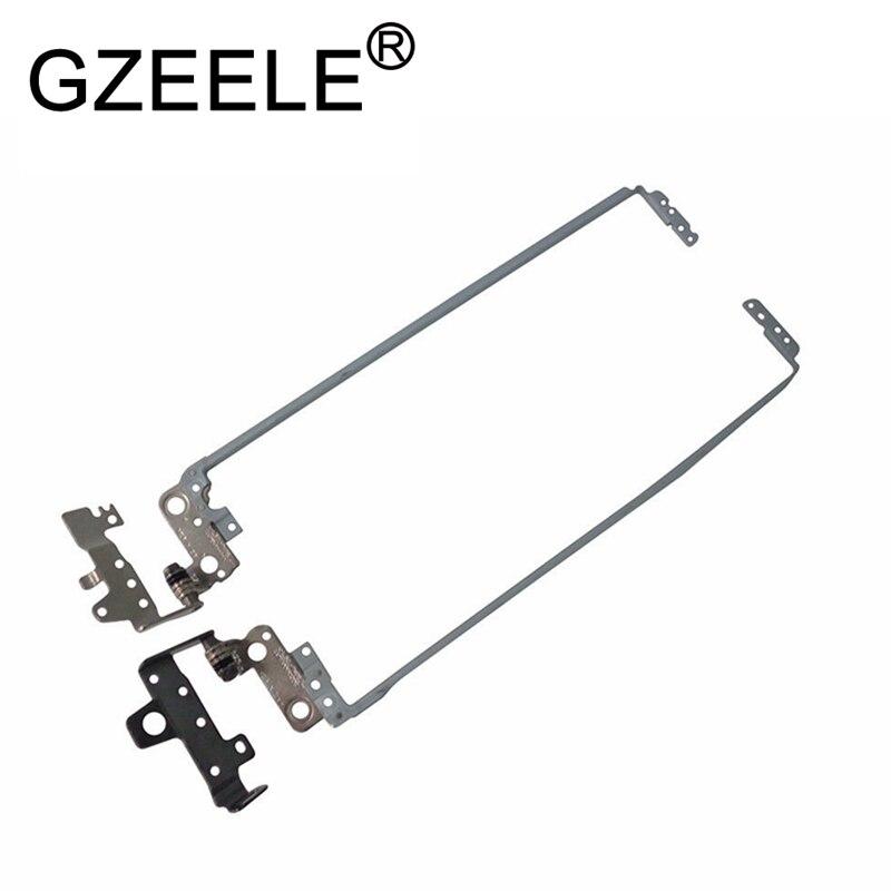 GZEELE NEW LCD Hinge For HP Pavilion 15-BD 15-BE 15-BG 250 G5, 255 G5, 256 G5 Right & Left Lcd Hinge Set