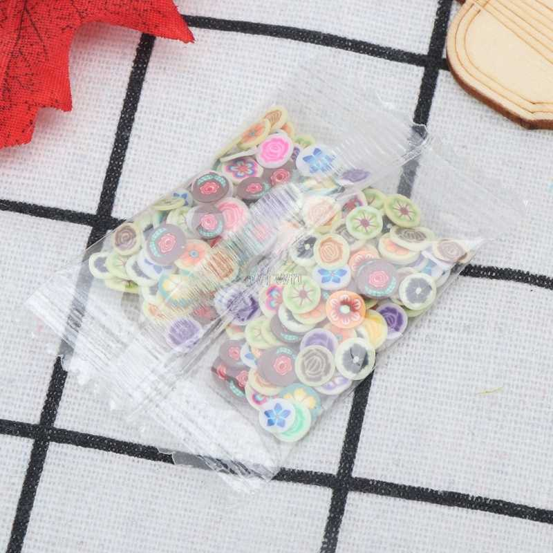 10 Styles Polymer Clay Toy DIY Slime Accessories Decor Jelly Mud Hand Gum MAY07 dropshipping